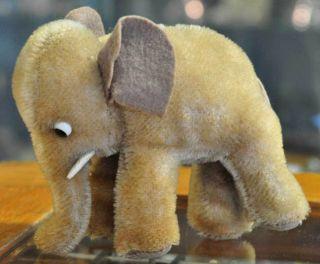 Süsser Alter/junger Kleiner Steiff Elefant Aus Den 60ern Sucht Neues Zuhause Bild