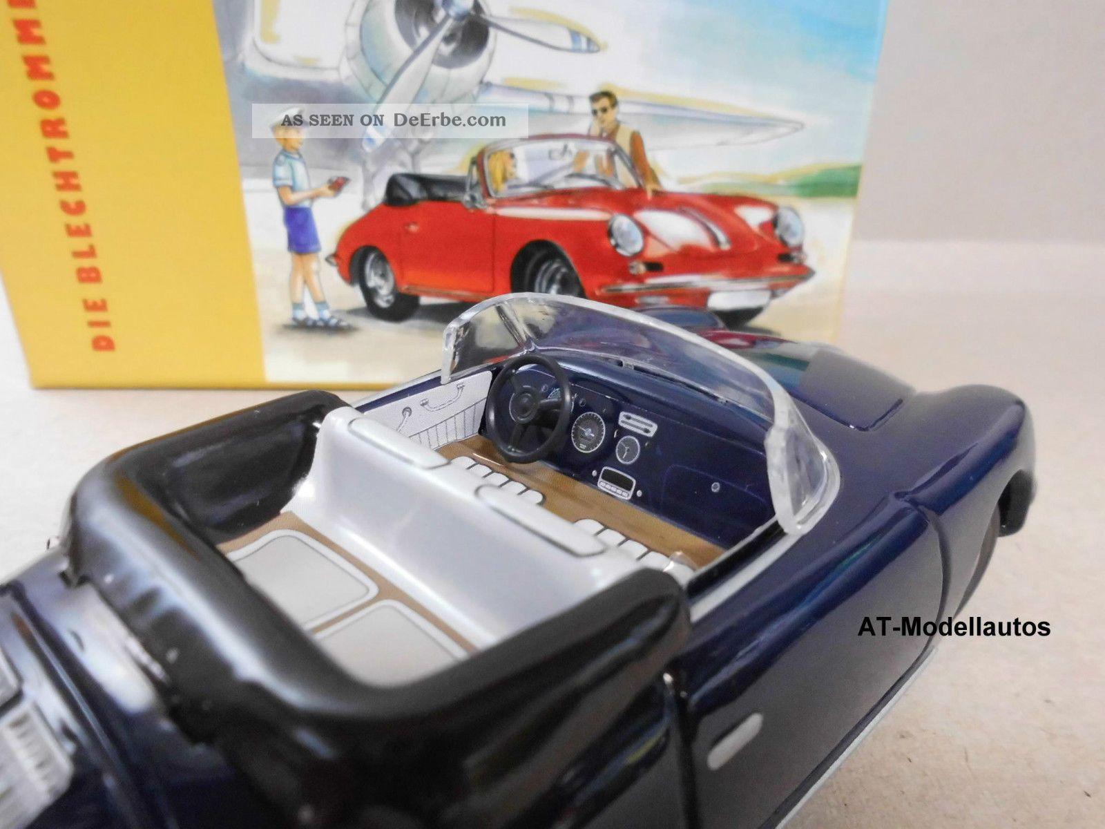 Wendeauto Porsche 356 Cabrio von KOVAP 0562 Blechspielzeug