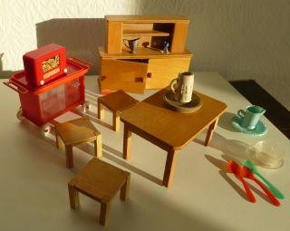 Antikspielzeug puppen zubeh r puppenstubenzubeh r - Antike kuchenmobel ...