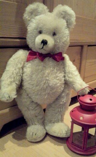 Diem Teddy Weiß 50cm 1950 Bild