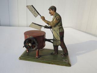 Bing,  Antriebsmodell,  Schlachter,  Metzger,  Fleischer Am Hackklotz,  Um 1925 Bild