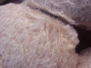 Sehr Alter Mohair Teddybär Bär Mit Glasaugen 42 Cm - Sehr Bespielt Bild
