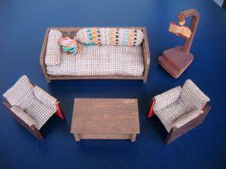 kuchenmobel um 1950 : Antikspielzeug - Puppen & Zubeh?r - Puppenstubenzubeh?r - Original ...