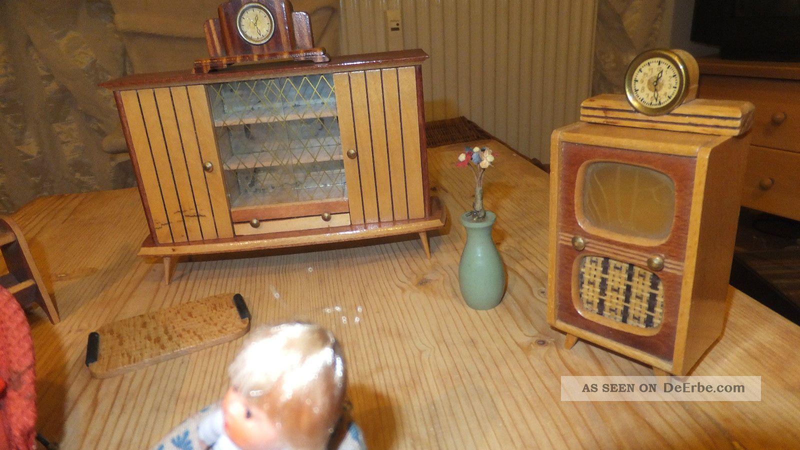 Puppenhaus Mobel Wohnzimmer Ddr 60 Er Jahre Puppenstube