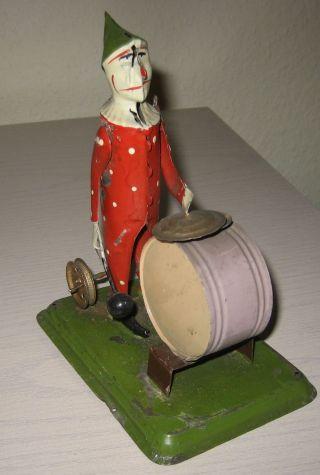 Antriebsmodell Trommler Clown,  Ca.  1930 Bild
