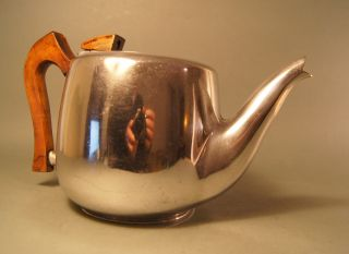 Teekanne,  Picquot Ware England,  Art Deco Bild