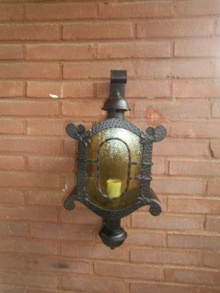 Antike Orginal Hoflampe,  Hoflaterne Bild