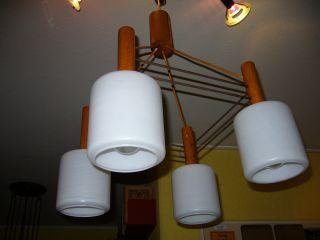 Hängeleuchte.  Lampe.  Hängelampe.  60 ' Er - 70 ' Er Jahre.  Sehr Schön.  Deckenlampe Bild