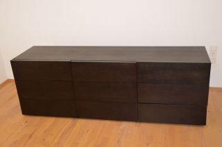 Pa25 - Massives Design Sideboard Mit Schubladen,  Knoll/ Behr Bild