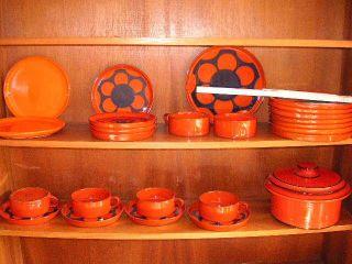 Melitta Ceracron Orange 70er 70s Uranglasur ? Möglich Bild