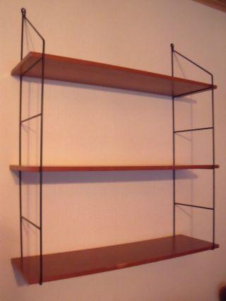 Altes Und Seltenes String - Regal Wand Oder Bücher Regal - Regal - Syst.  50 - 60er J Bild