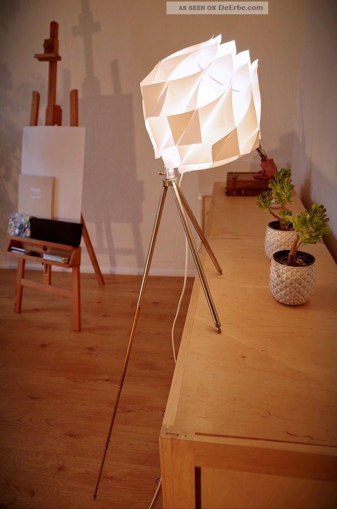 Tripod steh lampe stil danish design retro 60 70 dreibein for Tisch design danemark