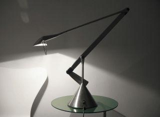 Lumina Italia Zelig Tavolo Edelstahl Designleuchte Walter Monici Lampe Leuchte Bild