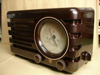 Sehr Schönes Philips Röhrenradio,  Typ Bx373a,  Baujahr 1948,  RaritÄt Bild