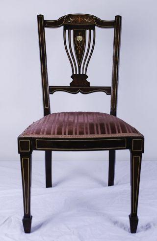 Historischer Stuhl Im Empire Stil Bild