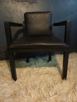 Tecta - D 51 - Stuhl Chair - Walter Gropius - Leder Schwarz - Designklassiker Bild