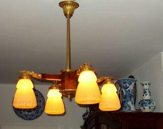 Jugendstillampe,  Lampe,  Lüster,  Leuchter,  Laterne,  Wandlampe,  Salon Lamp,  Deckenlampe Bild
