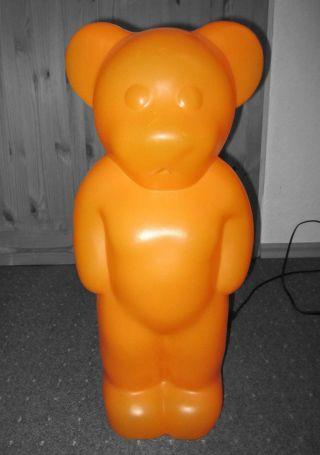 Großer LumibÄr Orange 60 Cm Leuchte Elmar Flötotto Designleuchte Lampe Bild