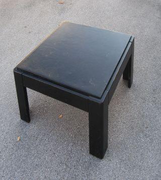 Schwarzer Couchtisch Von Knoll Bild