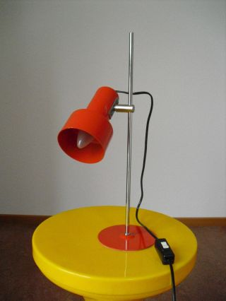 Panton Ära 60er 70er Lampe Schreibtischlampe - Topzustand Neweba Bild