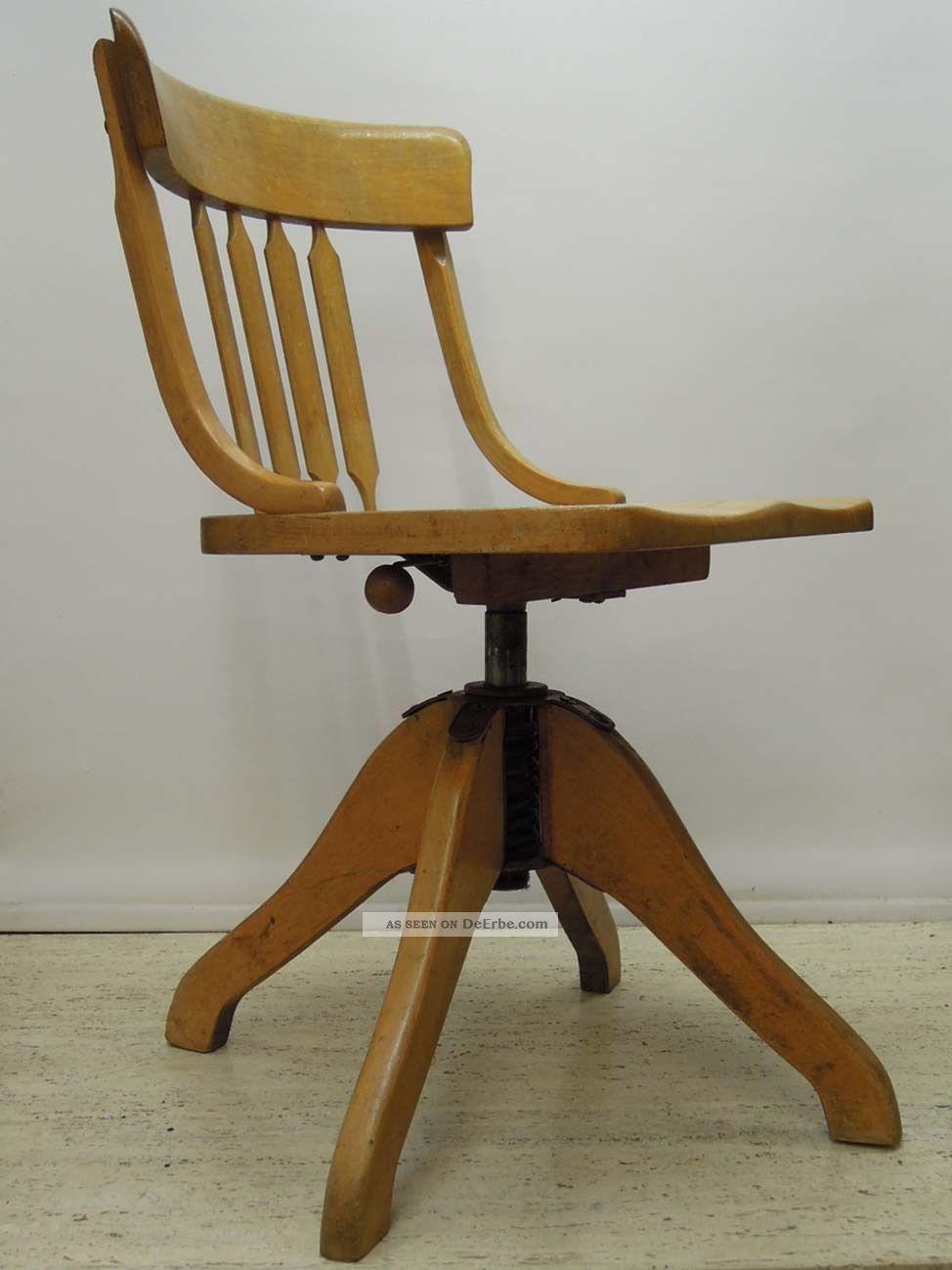 50er jahre federdreh b rostuhl schreibtisch stuhl for Stuhl design epochen