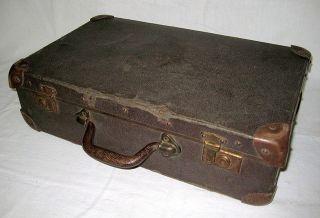 Alter Reisekoffer 30er - 40er Jahre,  Aus Haushaltsauflösung,  Schöne Deko,  Shabby Bild