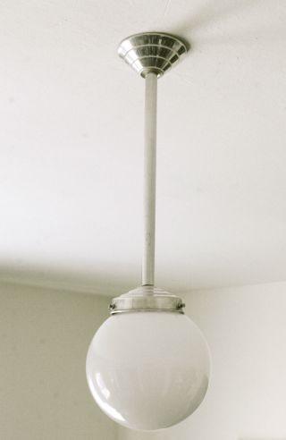Art Deco Kugellampe / Deckenlampe Bild