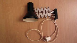 Wandlampe,  Werkstattlampe,  Scherenlampe,  Zuglampe,  Lampe,  Beleuchtung Bild