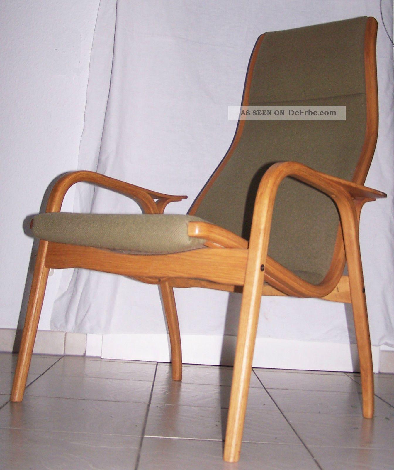 lounge chair lamino yngve ekstr m swedese sessel oak 50er jahre. Black Bedroom Furniture Sets. Home Design Ideas