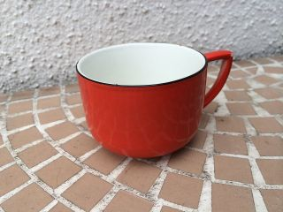 20er Jahre Emaille Tasse Made In Holland Art Deco Bild