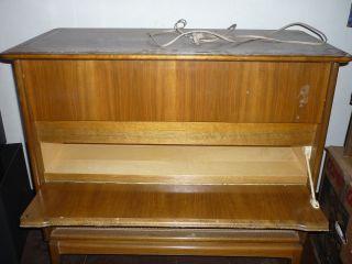Stereo Konzertschrank Ms 40 Grundig Plattenspieler Retro Vintage 60er Kommode Bild
