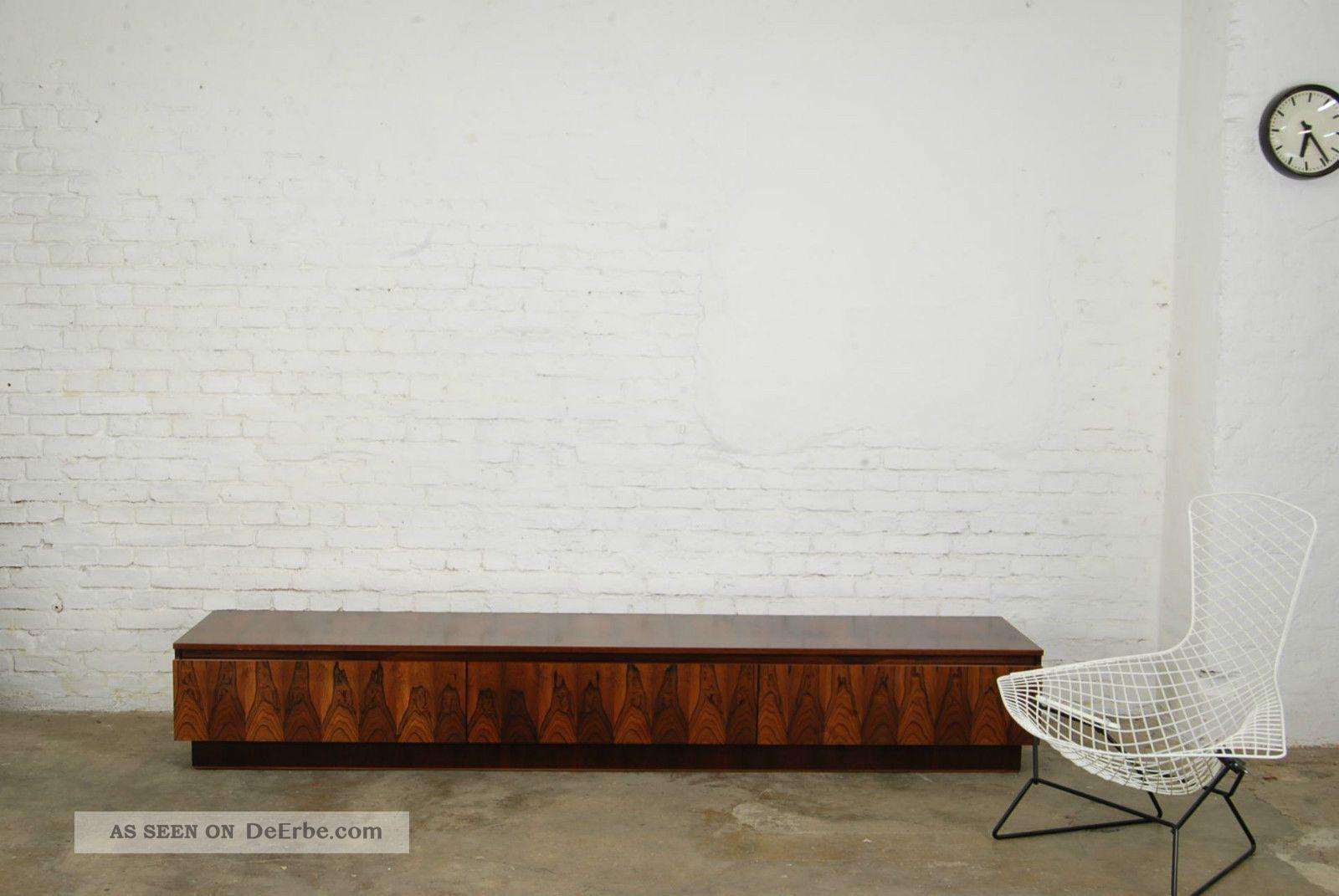 sideboard palisander 70er rosewood lowboard 70s knoll miller ra midcentury mode. Black Bedroom Furniture Sets. Home Design Ideas