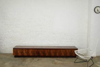 Sideboard Palisander 70er Rosewood Lowboard 70s Knoll Miller Ära Midcentury Mode Bild