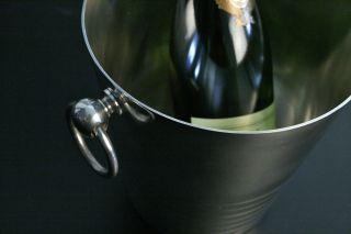 Versilberter Art Deco Champagner / SektkÜhler Bild