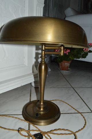 RaritÄt.  Alte Designer Lampe.  Tischlampe Messig Farben Ca 45 Cm Hoch Bild