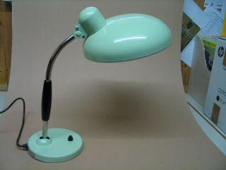 Schreibtischlampe Vermutlich Austria Email Aus Den 60igern,  Antik,  Selten, Bild
