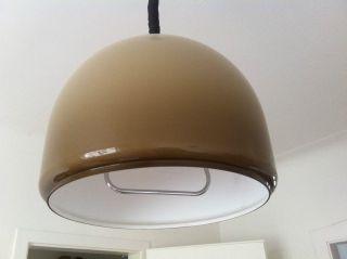 Deckenleuchte Pendellampe Zuglampe Staff Oder Guzzini ? 60er 70er Vintage Bild