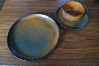 Kaffee Tee Gedeck,  Tekton 200,  Heisterholz Keramik,  60 - 70er,  Design Award 1973 Bild