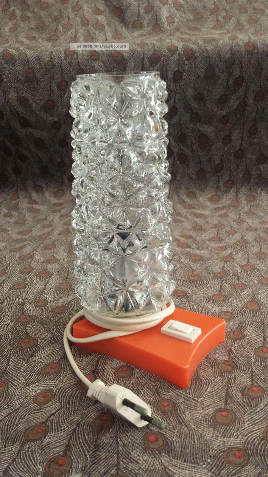 Alte nachttischlampe lampen tischlampe 50er 60er jahre vintage for Lampen 50er design