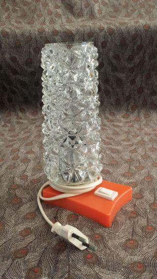 Alte Nachttischlampe Lampen Tischlampe 50er/60er Jahre Vintage Bild