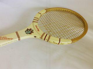 Alter Tennisschläger Dunlop Alliance Made England 60er Jahre Bild
