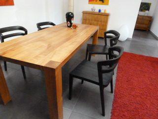 Lambert 4 Stühle Stuhl Cicero Eiche Schwarz Modern Selten Bild