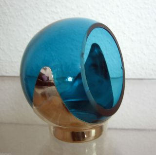 Quist Glas Knabberkugel Partykugel 70er Jahre Vintage Space Age, Bild