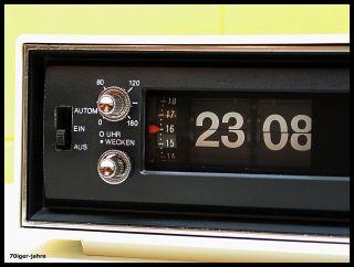Blaupunkt Digita 24 - Klappzahlen - Radiowecker - Wecker - Radio - Flipclock - 70er - Vintage Bild