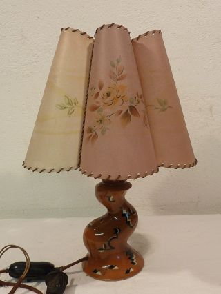Vintage Art Deco Tischlampe Made In Germany Um 1935 Bild
