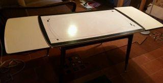 50iger Jahre Rockabilly Wohnzimmer Tisch (ausklappbar) Bild