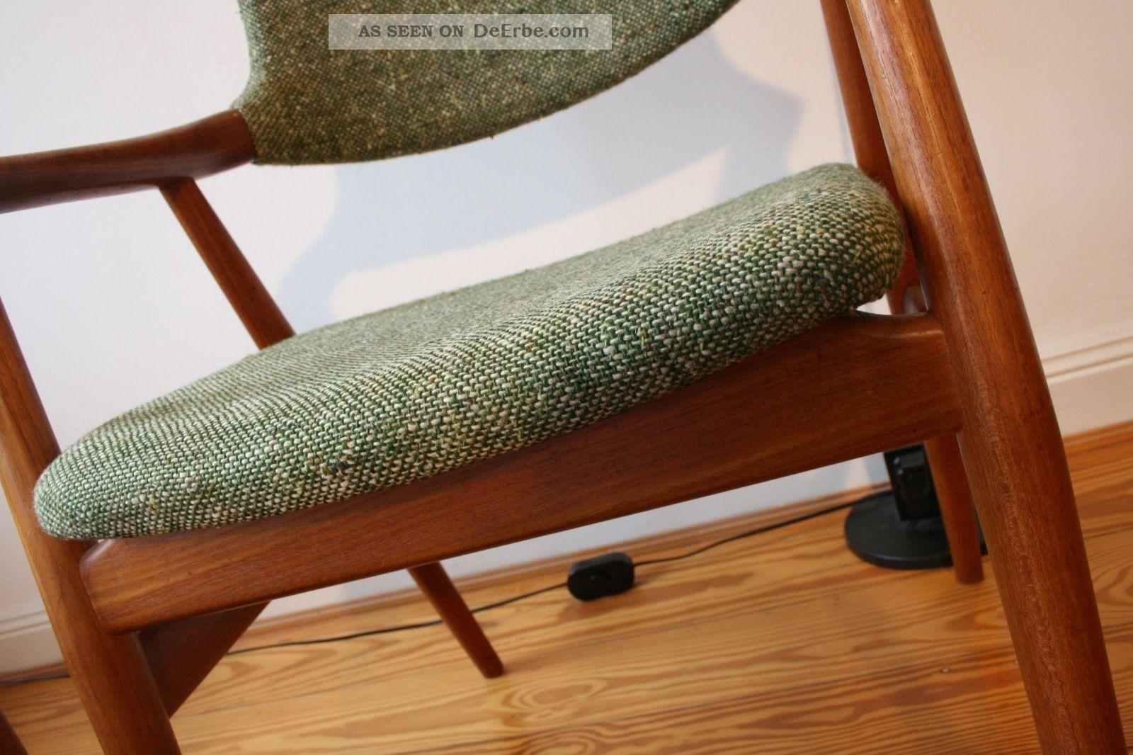Vintage compass chair erik kirkegaard for dux danish for Danish design stuhl
