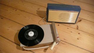 Phillips Plattenspieler All Transistor Tragbar 60er Jahre - Rarität Bild