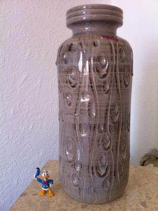70 ' S Wgp West German Pottery Scheurich Koralle Bodenvase Floor Vase 288 - 40 (129) Bild