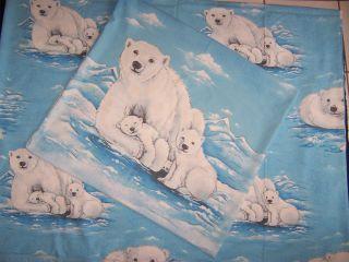 Kinder Bettwäsche Eisbär Sehr Schöne Motivetop Vintage 70er Jahre Bild